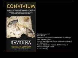 Convivium - Graziana Lucarelli