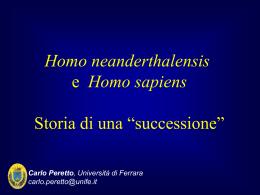 5-daNEANDaSAPIENS2013-14 - Università degli Studi di Ferrara