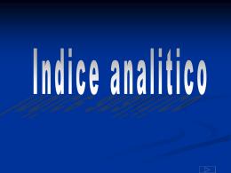 19 - Indice Analitico