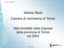 Diapositiva 1 - Camere di Commercio