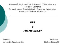 seminario_ppp_fr - Dipartimento di Matematica e Informatica