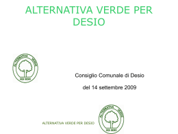Interpellanza di Alternativaverde per Desio sull`Ac14