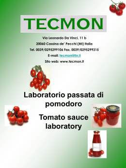 Sito web: www.tecmon.it