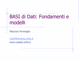 02_DataBAse fondamenti e modelli_TD