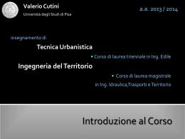 introduzione - Università degli Studi di Pisa