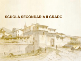Secondaria II grado