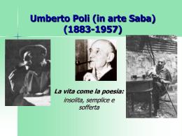Umberto Saba (1883-1957)