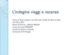 viaggi - Didattica Uniroma2