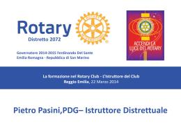 Pietro Pasini – La formazione per Presidenti