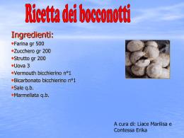 Ricetta - Alberghierobrindisi.it