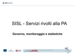 SISL - Servizi per la PA