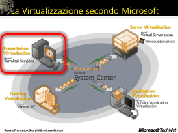Windows Server 2008 Terminal Services: Architettura, Componenti