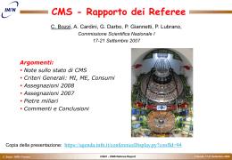 cms_referee_0709 - INFN Sezione di Napoli