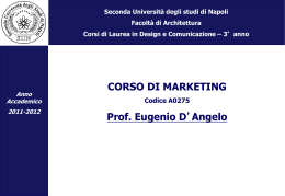 4-architettura strategie e marketing 2011