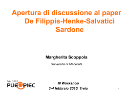 Apre la discussione: Margherita Scoppola