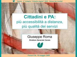 """Cittadini digitali"" 2005"