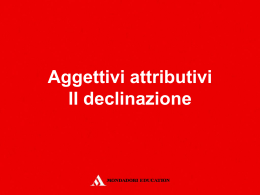 Diapositiva 1 - Mondadori Education