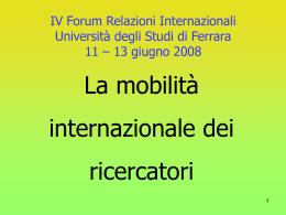 Claudio Borio - Università degli Studi di Ferrara