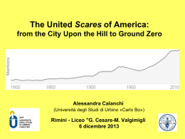 The United Scares of America