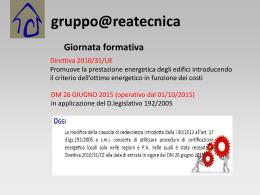 Ape ott 2015 - Gruppo Areatecnica