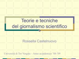 EBIS_LEZIONE_GENERI_`09 - Università degli Studi di Roma