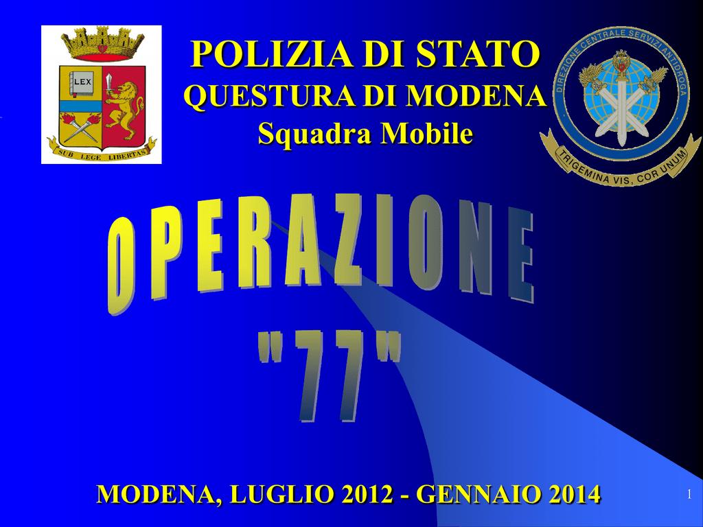 Operazione 77 file questura 2 for Questura di carpi permesso di soggiorno