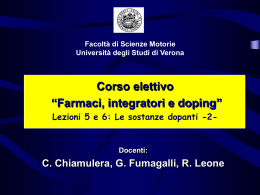 Lezione sostanze dopanti 2 (vnd.ms-powerpoint, it, 11858 KB, 4/6/06)