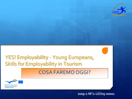 YES! Employability - Young Europeans, Skills for Employability in