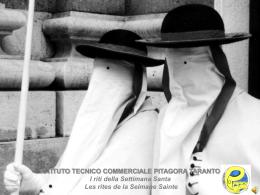 ISTITUTO TECNICO COMMERCIALE PITAGORA TARANTO I riti