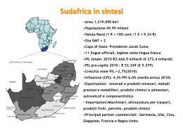 Sudafrica in sintesi