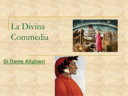 La Divina Commedia presentata da Bruno e