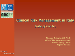 Clinical Risk Managers