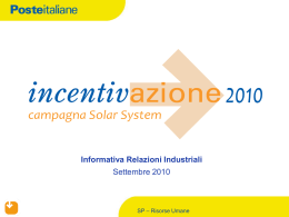 03/09 campagna commerciale - super solar