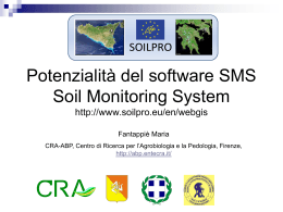 Monitoring for soil protection