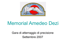 Memorial Amedeo Dezi