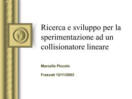 piccolo_infn_linear_collider - INFN