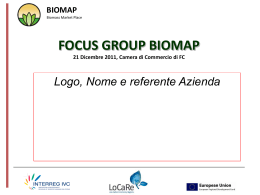 focus group biomap