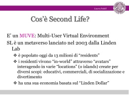 Cos`è Second Life?