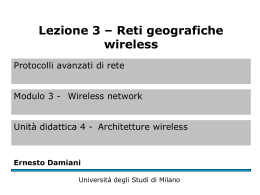 Reti geografiche wireless