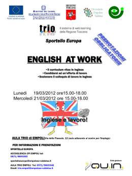 English at Work - Empolese