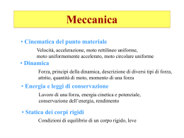 Meccanica - INFN - Torino Personal pages