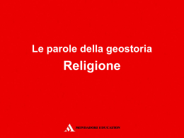 24_religione - Mondadori Education