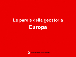 25_europa - Mondadori Education