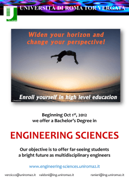 Bachelor`s Degrees - Engineering Sciences