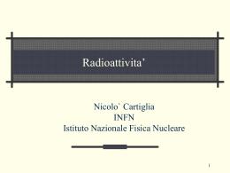 Radioattivita
