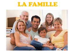 La famille - WordPress.com