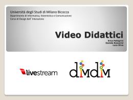 """Video Lezioni - Corso """"Strumenti e applicazioni del Web"""""""