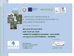 Scarica il materiale distribuito al Workshop: Presentazione Guerrini
