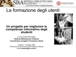 presentazione del progetto in Power Point