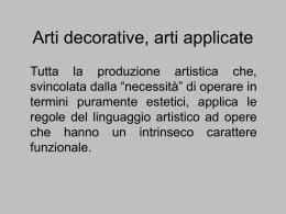 arti decorative 35dia - Storia e Tecnologia dell`Oreficeria (STOre)